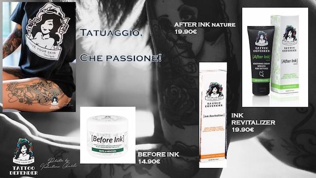 prodotti per la cura dei tatuaggi,