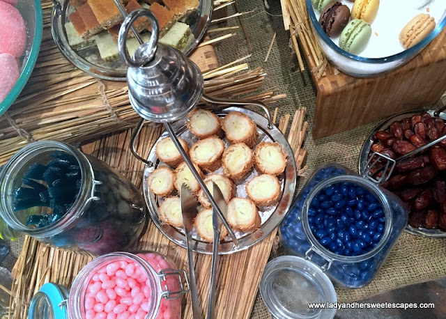 sweets at Fairmont Ajman brunch