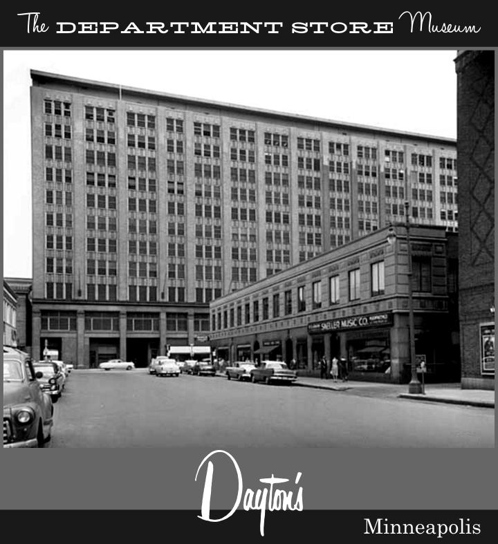 Minneapolis Garage Builders News Construction Blog: The Department Store Museum: Dayton's, Minneapolis, Minnesota