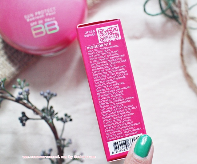 Skin79 Hot Pink BB Pact Ingredients