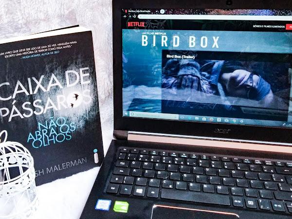 [Livro x Filme] Bird box - Caixa de pássaros