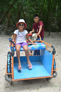 Visitar ruinas mayas con peques II