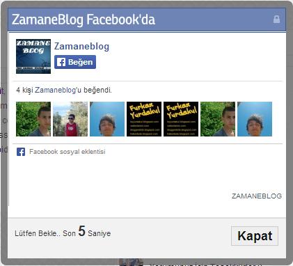 facebook sadece takip etme