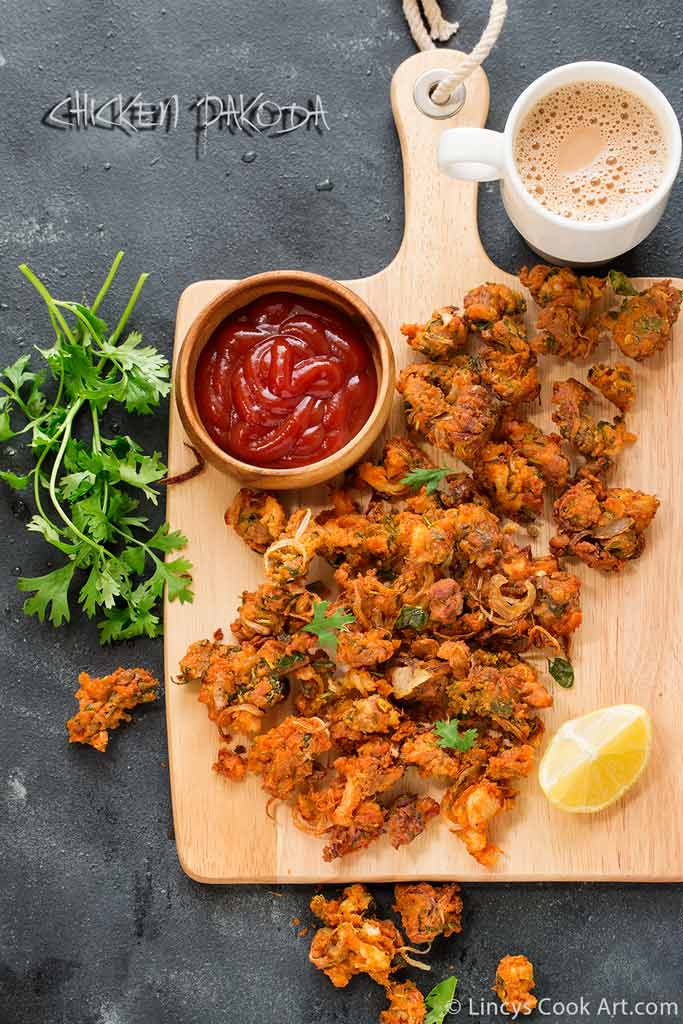 Chicken pakoda recipe