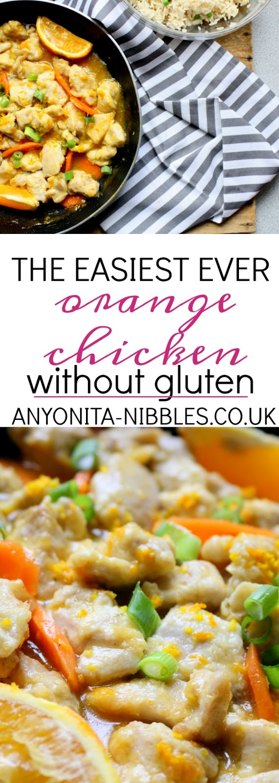 Whip up this orange chicken takeaway favourite without the gluten and with all the flavour!