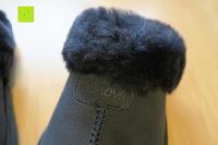 Plüsch: BOnova® Helsinki - Warme und kuschelige Hausschuhe aus echtem Lammfell in 5 Farben für Damen