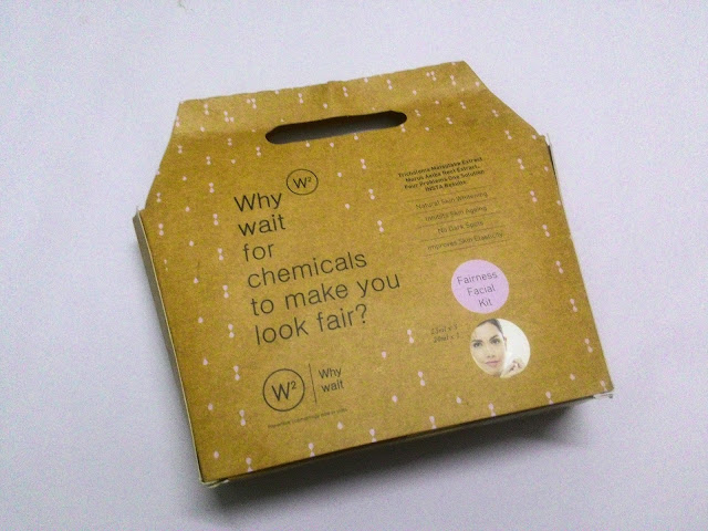 W2 Fairness Facial Kit : Review