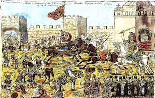 Η Άλωση της Κωνσταντινούπολης και η θυσία του τελευταίου αυτοκράτορα