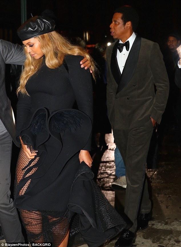 Beyonce-Jay-Z-Clive-Davis-Pre-Grammy-gala