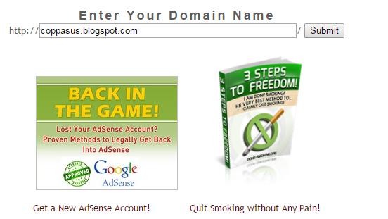 Benarkah Blog/Website Anda Tidak Dibanned Oleh Google?