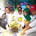 Kasdim 0712/Tegal mengikuti Olah Raga Bersama dan Pembukaan Festival Nduren Bareng Nang Tegal bersama Bupati Tegal