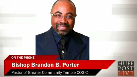 Bishop Brandon Porter Discuss Some in COGIC Distancing Themselves