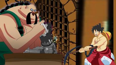 ditutup dengan Queen yang sudah hingga di pintu gerbang penjara Udon [ PREDIKSI ONE PIECE CHAPTER 935 ] LUFFY VS QUEEN!