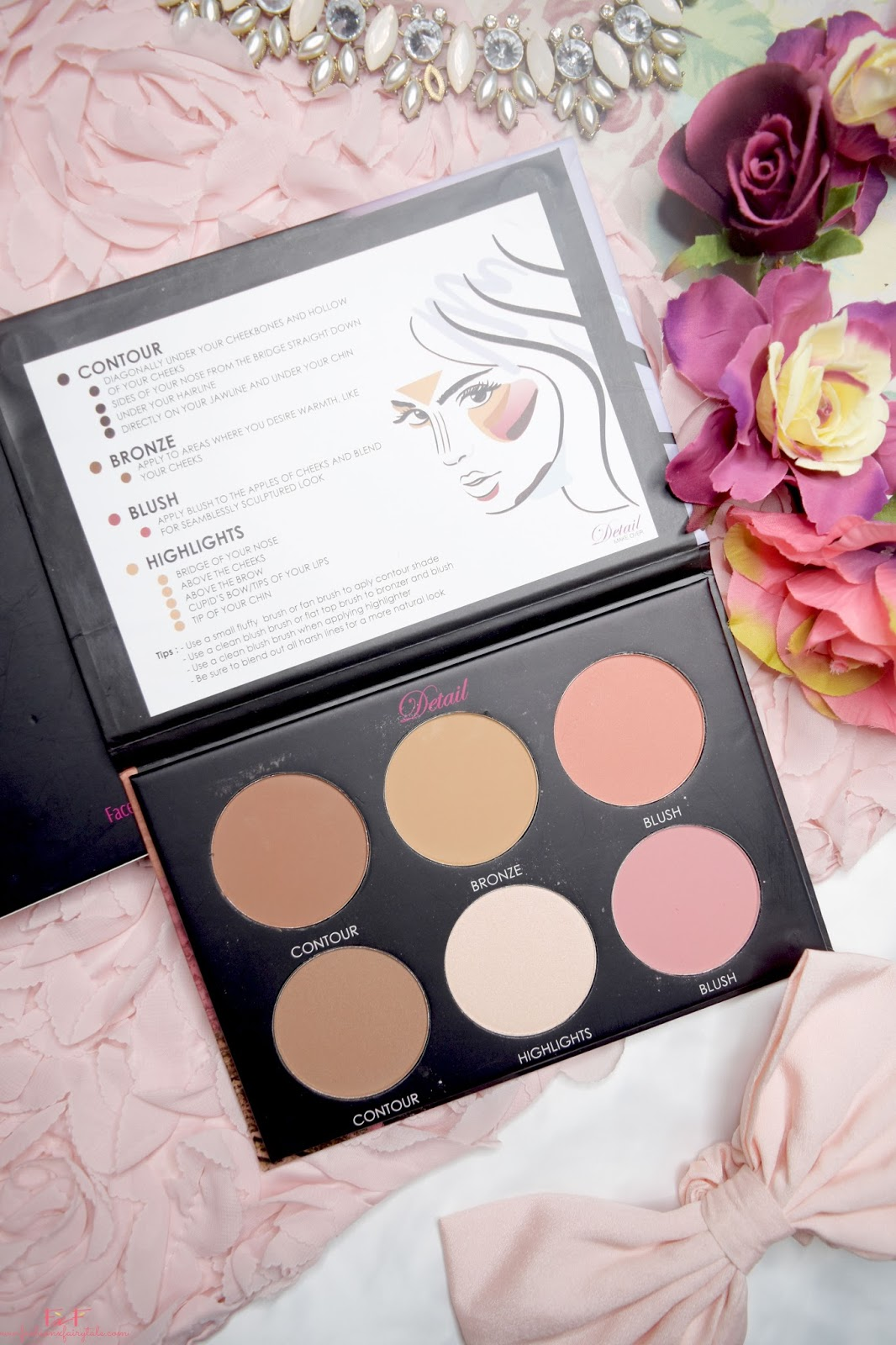 Detail Contour and Blush Palette | Review & Swatches
