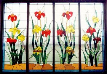 Keindahan Seni Dekoratif Kaca (inlay) | Rumah Idaman Kita