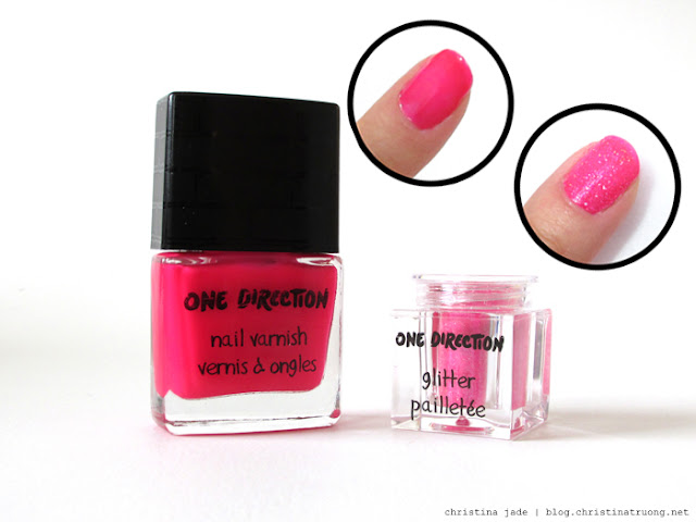 Makeup by One Direction Review Swatch Rock Me Nail Kit Not Afraid Moments Polish Varnish