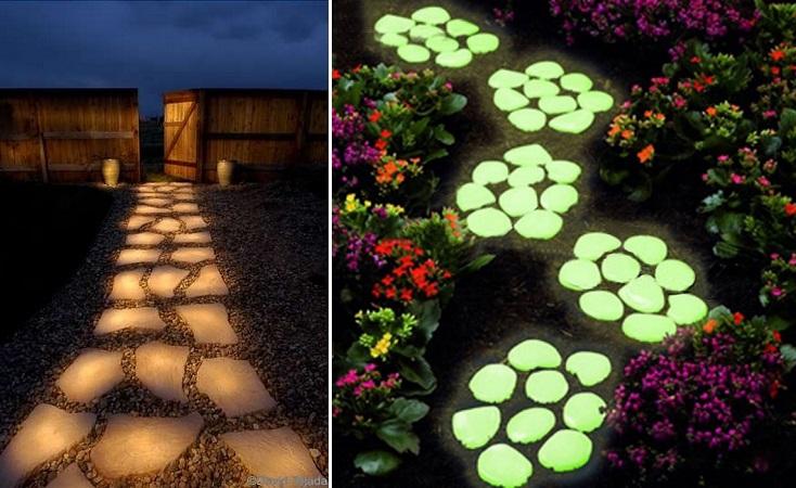 Glow in the Dark Stepping Stones - HANDY DIY Stepping Stones