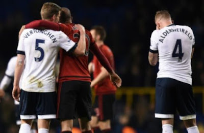 Tottenham Tertahan, Leicester City di Ambang Juara Liga Primer