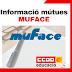 Informacions referents a les mútues que presten serveis per MUFACE