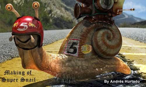 Making of Super Snail