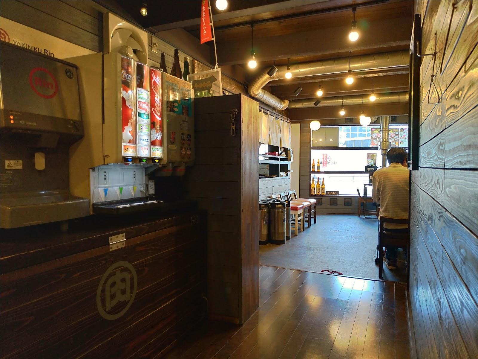 店内 長崎市の昼人気店 焼肉Rinでステーキランチはおすすめ