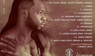 Flavour Unveils Cover Art To His Fifth Album – IJele – The Traveller