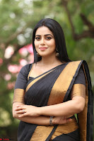 Poorna in Cute Backless Choli Saree Stunning Beauty at Avantika Movie platinum Disc Function ~  Exclusive 121.JPG
