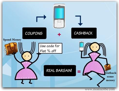 cashback bargain coupon