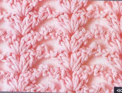 Patrón #1178: Punto Abierto a Crochet