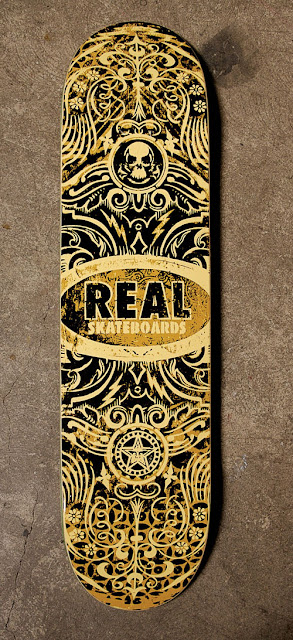 obey giant x real skateboards ©