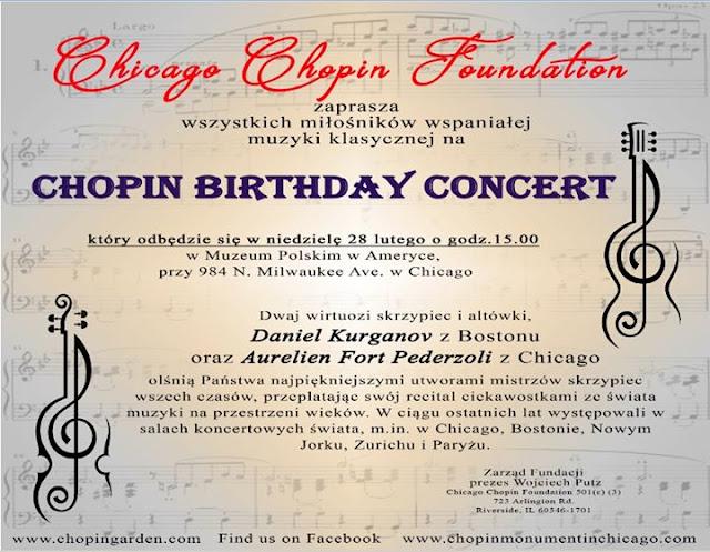 O niedzielnym koncercie, pomniku Chopina, zapomnianym języku polskim i kulturze Polonii