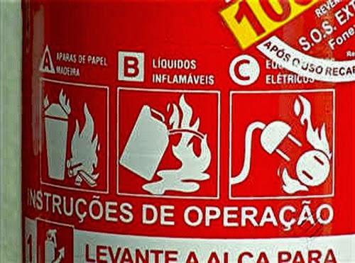 nova lei extintor abc