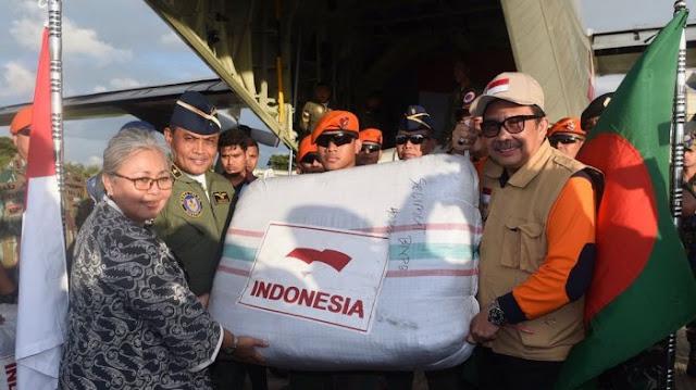 Bantuan Indonesia 54 Ton Belum Cukup, Pengiriman akan Terus Berlanjut