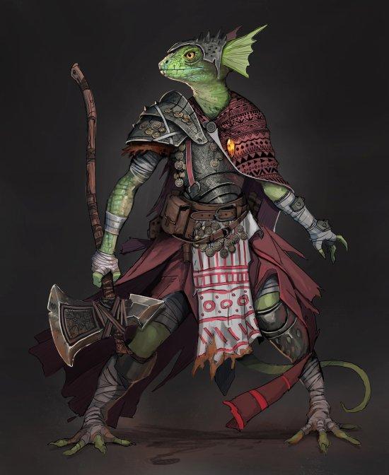 Todd Ulrich artstation arte ilustrações fantasia personagens