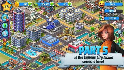 تحميل لعبة City Island 5 مهكرة للأندرويد