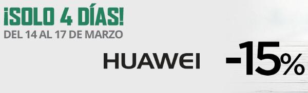 Mejores ofertas ¡Solo 4 días! -15% Huawei de El Corte Inglés