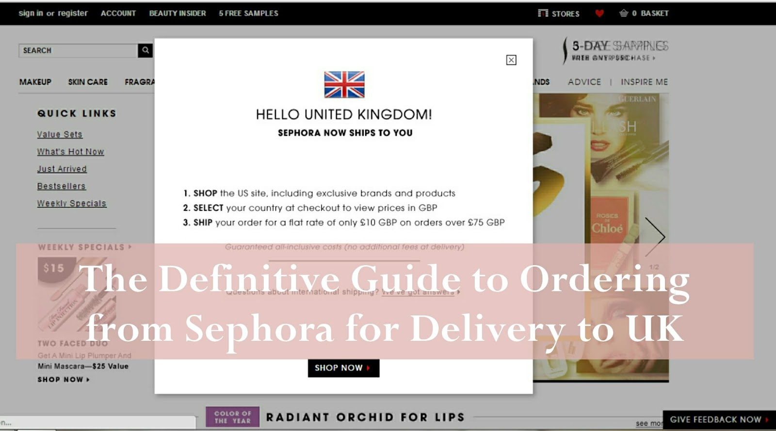 46248fc6a9 Dips Delectus  The Definitive Guide to Ordering from Sephora for ...