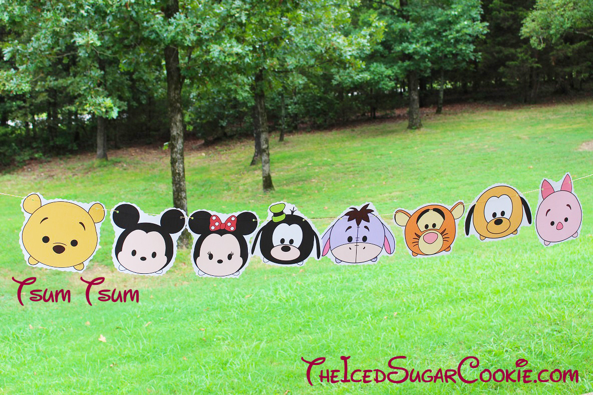 Eeyore Disney Tsum Tsum Tigger Piglet Minnie Mouse: DIY Birthday Blog: Tsum Tsum Disney Characters Birthday