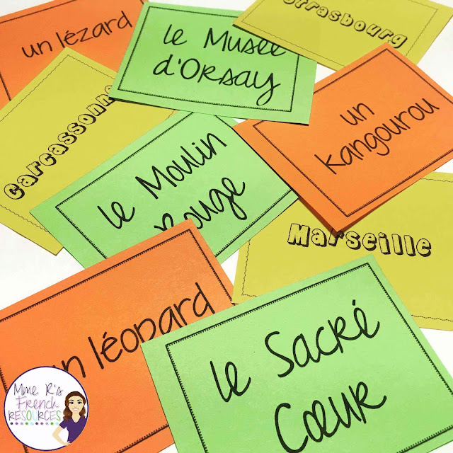 These French grouping cards are a great way to group students and introduce Francophone culture effortlessly.