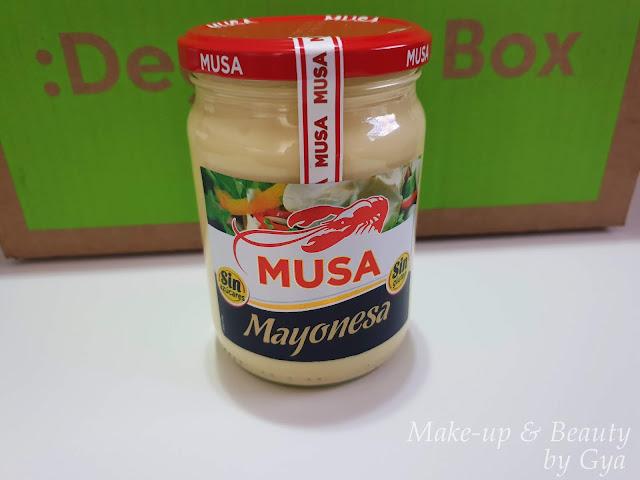 Mayonesa Musa Degustabox Marzo ´19 - Mi última cajita