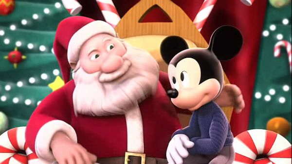 Watch Mickey Mouse and friends Christmas Holidays Wishes