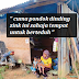 Wanita Ini Berdikari Apabila Kemiskinan Membelenggu  Dan Dugaan Anaknya Penghidap Penyakit Bengkak Hati
