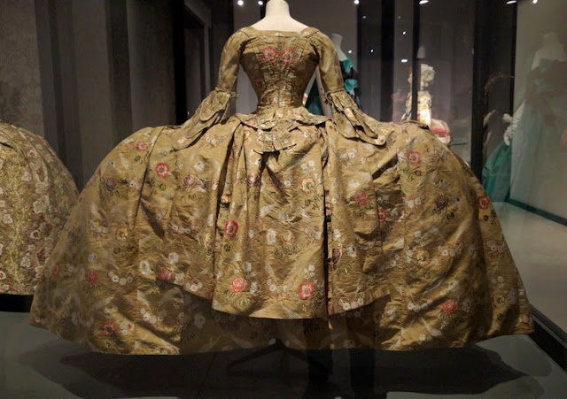 Court Mantua Dress The Vulgar at The Barbican