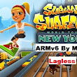 Game Android : Subway Surfers v1.6.0 Lagless ARMv6 QVGA