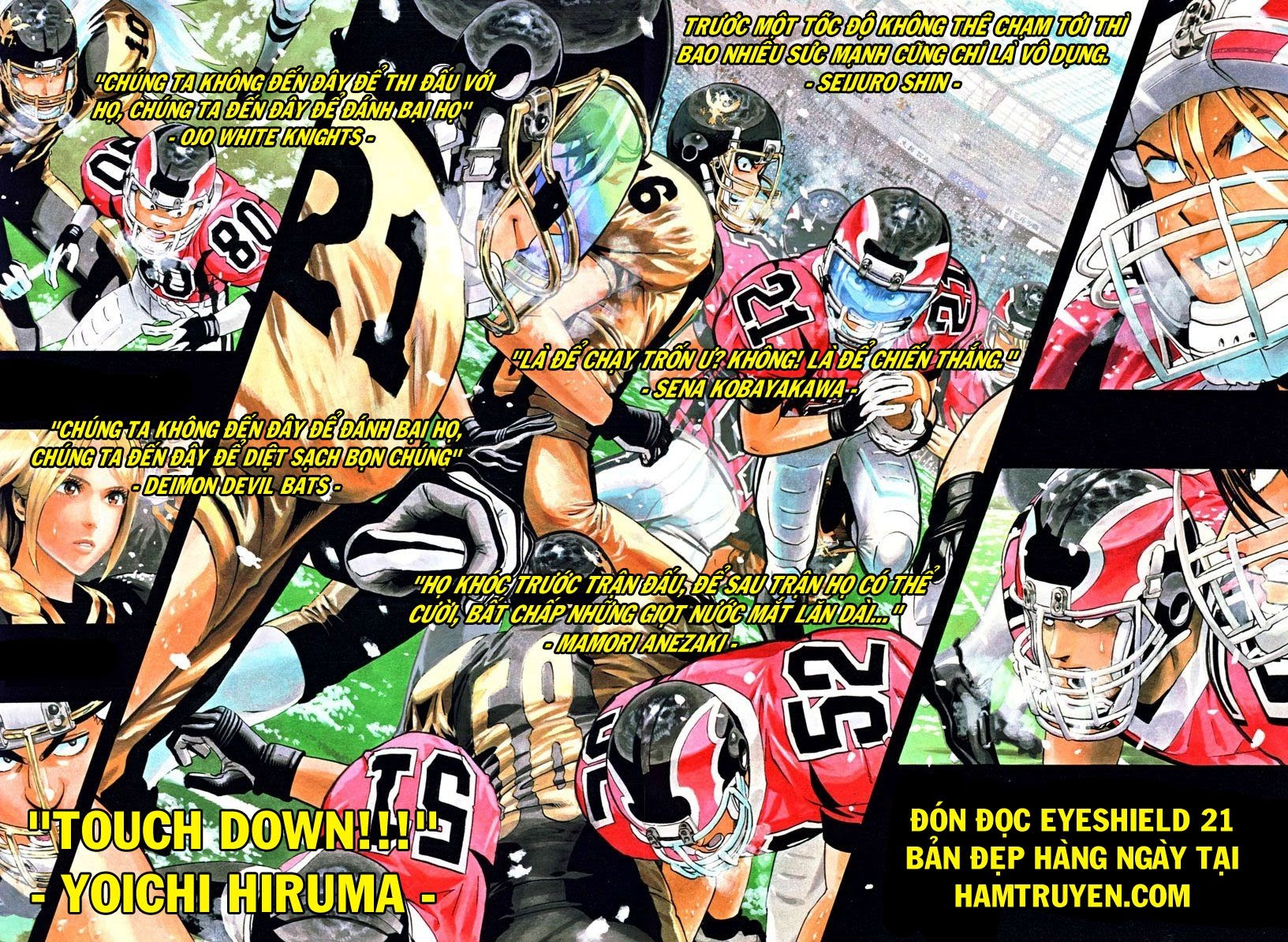 Eyeshield 21 chapter 146 trang 22