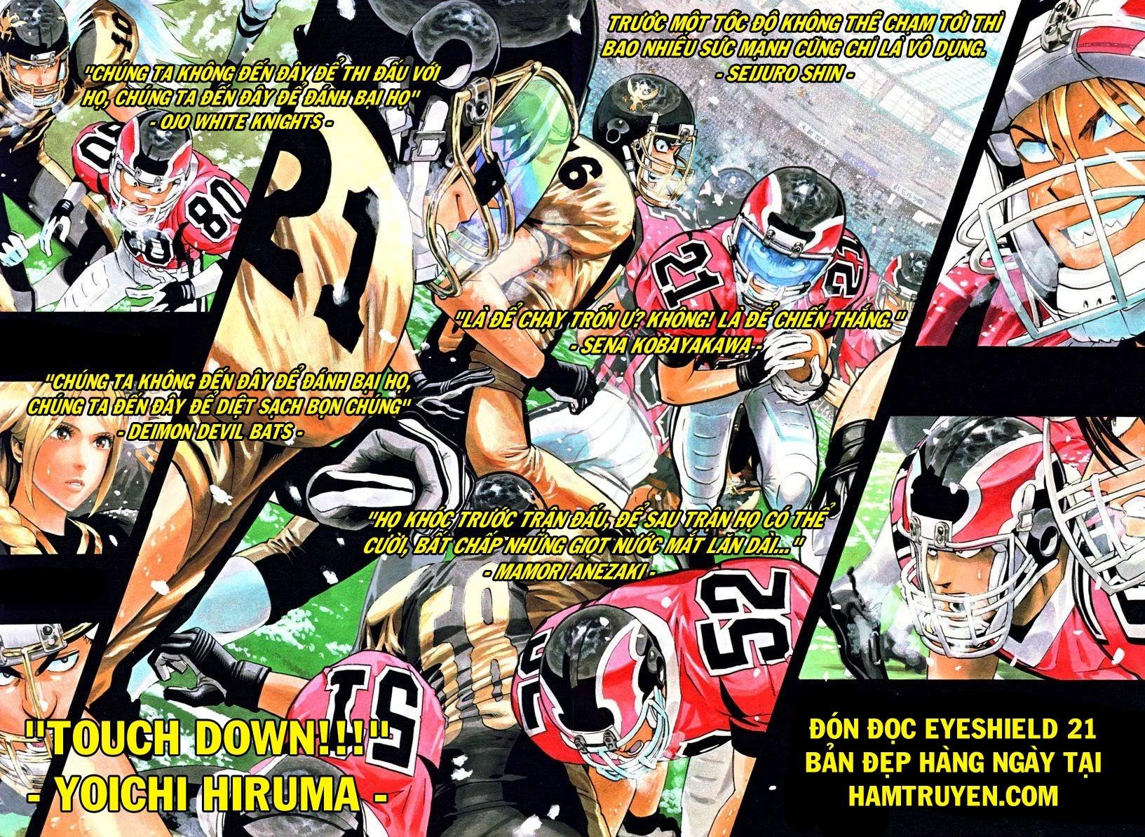 Eyeshield 21 chapter 148 trang 23