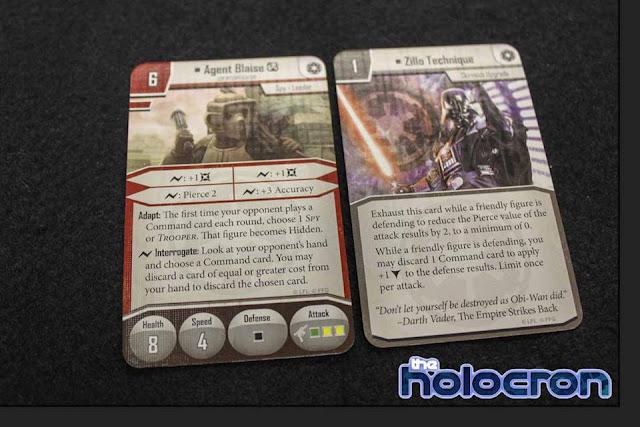 Imperial Assault Se filtran todas las cartas de Agent Blaise