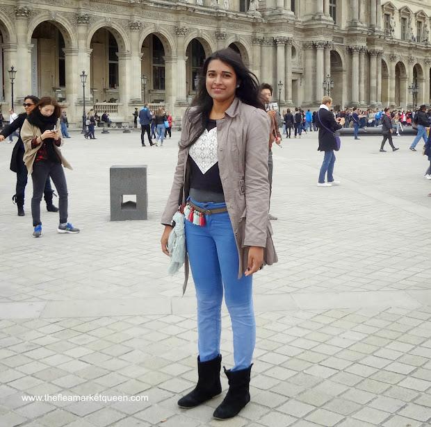 Fashion Wore In Paris Ft.louvre Fleamarket