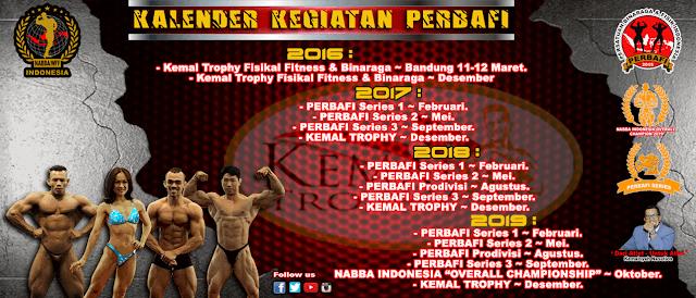 Kalender kegiatan event perbafi selama 2016 persatuan binaraga indonesia