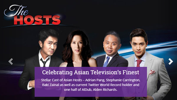 Alden Richards, chosen to host 21st Asian Television Awards in SIngapore